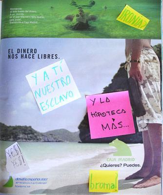 caja madrid advierte: